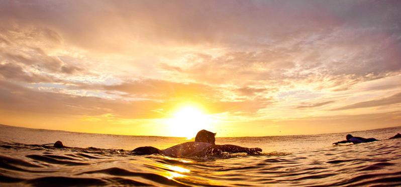 Серфинг советы: как правильно выплывать на лайн-ап