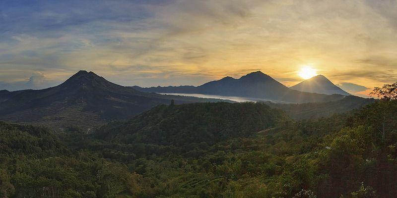 Вулканы на Бали. Батур и Агунг