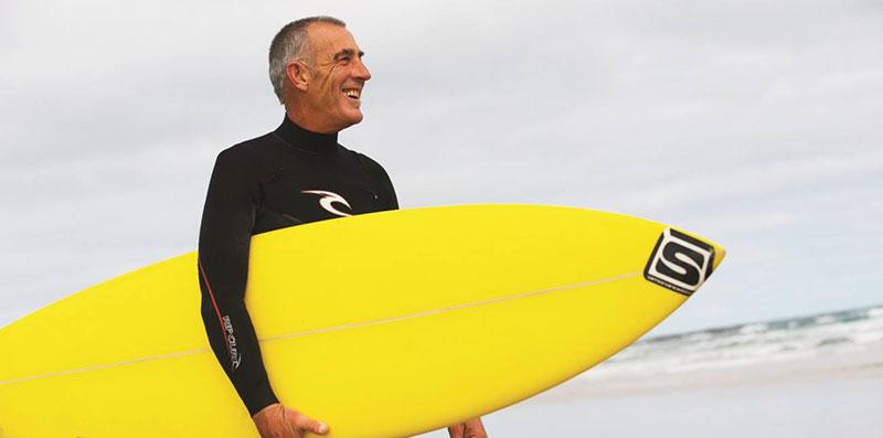 trener po surfingu