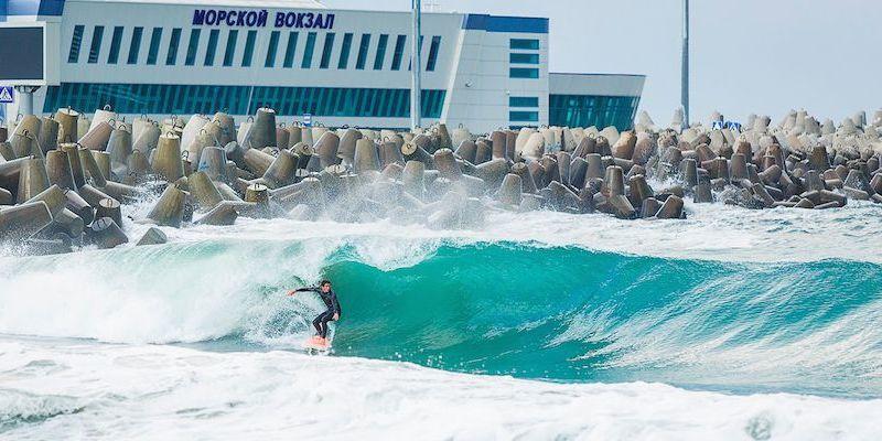 """серфинг, станция """"Морской вокзал"""""""
