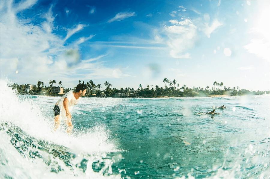 серфинг Бали