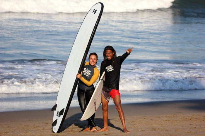 surf school in bali