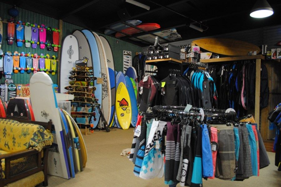 surfing gear